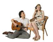 Serenade für gehörlose — Stockfoto