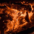 Royalty-Free Stock Photo: Hot coal texture