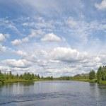 Karelian landscape — Stock Photo #1040820