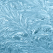 Frozen window - Stock Photo