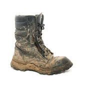 Dirty boot — Stock Photo