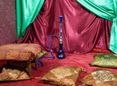Hookah room — Stock Photo