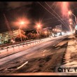 Stock Photo: Asphalt road in city