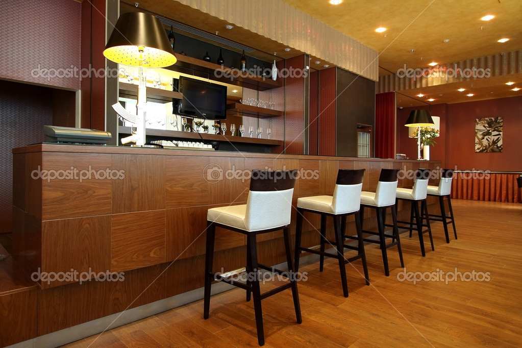 Interior of cosy modern cafe — Stock Photo #1271045