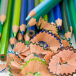Royalty-Free Stock Photo: Blue pencils