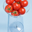 Royalty-Free Stock Photo: Cherry tomatoes in glass