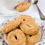 Cookies and tea — Stock Photo