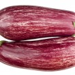 Eggplant isolated — Stock Photo
