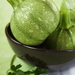 green zucchini — Stock Photo