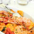Pasta and seafood — Stock Photo #1051558