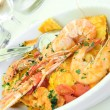Seafood and pasta1 — Stock Photo #1051594