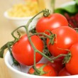 Foto Stock: Red tomatoes