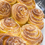 Spiral cake — Stock Photo