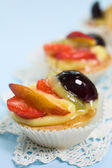 Fruit Pastries — Stock Photo