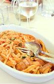 İtalyan makarna — Stok fotoğraf