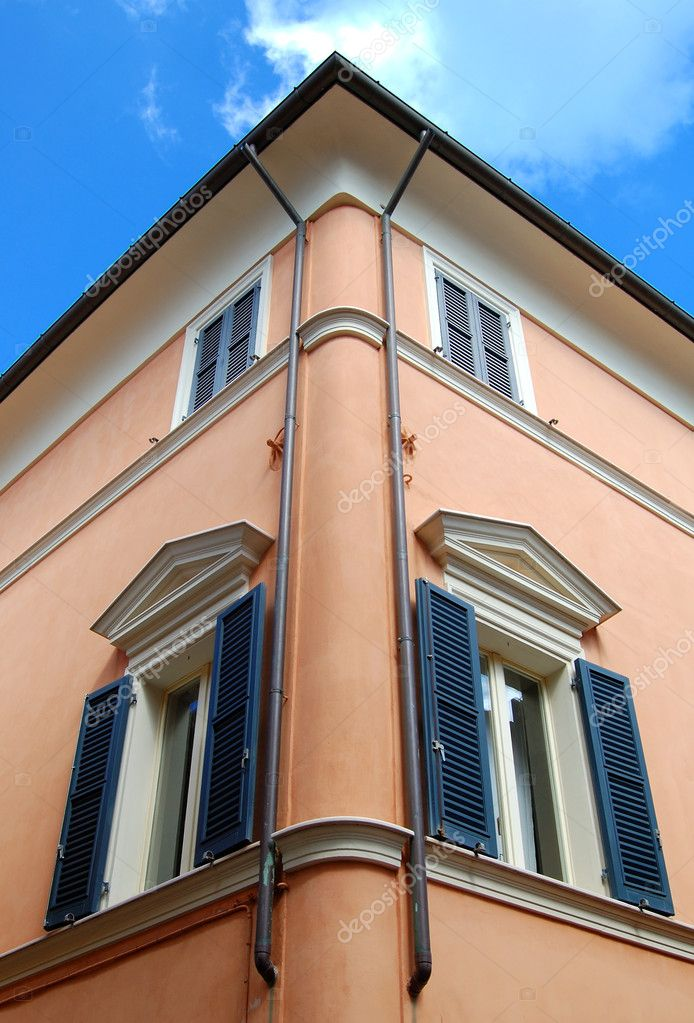 Angle of a house  Foto Stock #1051688