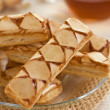 Apple puff pastry — Photo
