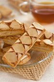 Apple puff pastry — Stock Photo