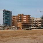 edifici sulla spiaggia — Foto Stock