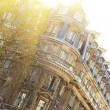 Elegant Building in Paris - Stock Photo