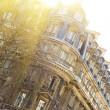 elegante edificio di Parigi — Foto Stock