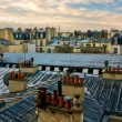 Paris Roof View — Stock Photo