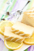 Lemon cake — Stock Photo