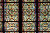 Fenster dekorieren — Stockfoto