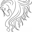 Royalty-Free Stock Vector Image: Horse Head