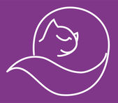 Kočka — Stock vektor