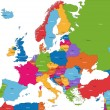 Europe map — Stock Vector
