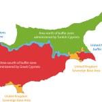 Постер, плакат: Cyprus map