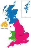 United Kingdom — Stock Vector