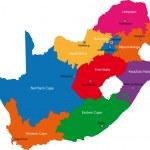 Постер, плакат: South Africa map