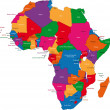 Royalty-Free Stock Vector Image: Africa map