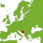 Bosnia and Herzegovina — Stock Vector