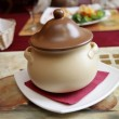 The clay pot — Stockfoto