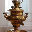 Stock Photo: Copper samovar