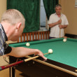 Stock Photo: Billiards game