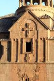 Sunny starověké církve — Stock fotografie
