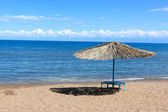 Issyk Kul beach — Stock Photo