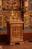 Decoration of church — Stock Photo