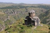 Church on Mount Aragats — Stock Photo