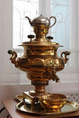 Copper samovar — Stock Photo