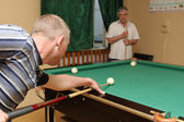Billiards game — Stock Photo