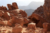 Mount Sinai at sunrise — Stock Photo