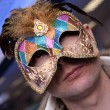 Royalty-Free Stock Photo: Man in the carnival mask