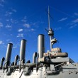Stock Photo: Armoured cruiser