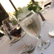 Water and wine — Stock Photo