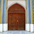 Door of mosque — Stock Photo